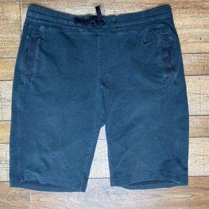 🎃 NIKE Knee Length Black Cotton Shorts